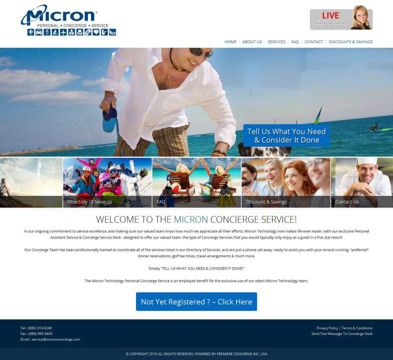 Micron Concierge