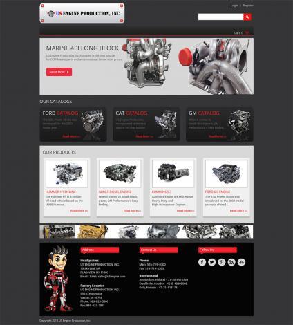 US Engine Production